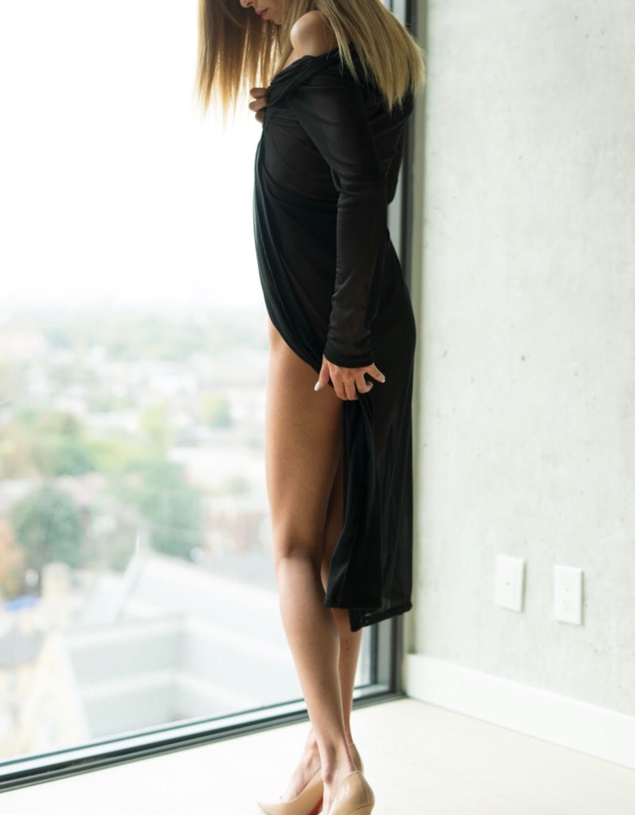 Model in lingerie - Alessia